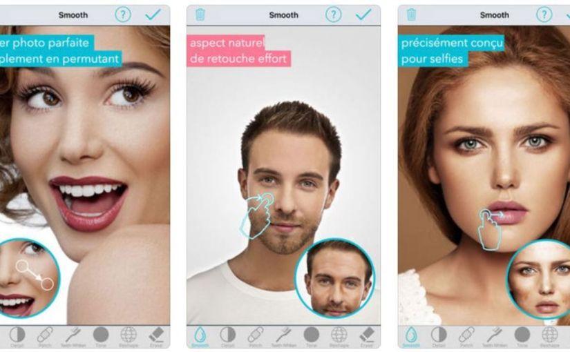 Les applications de retouche photo, nouveau danger dans la recherche de laperfection