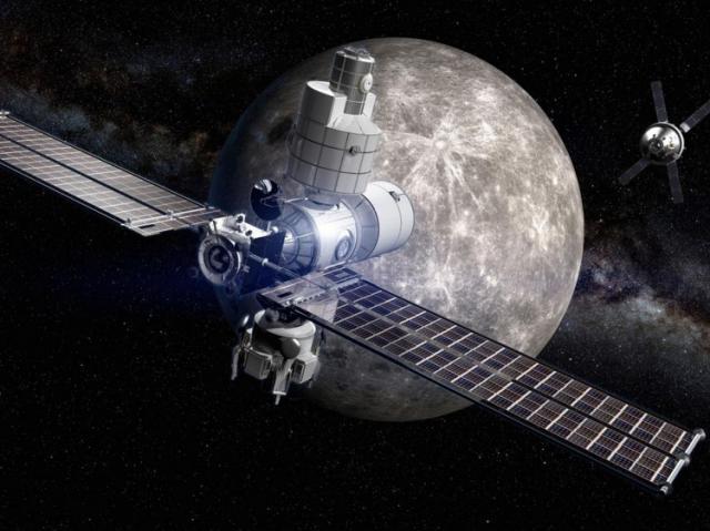 L'Europe se lance dans le projet de station spatialeLunaire
