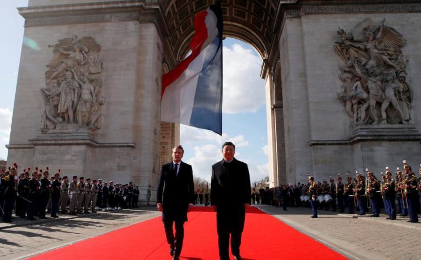 France: mini-sommet européen à Paris pour XiJinping