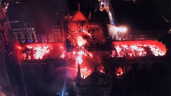 Incendie de Notre-Dame de Paris: la structure «estsauvée»