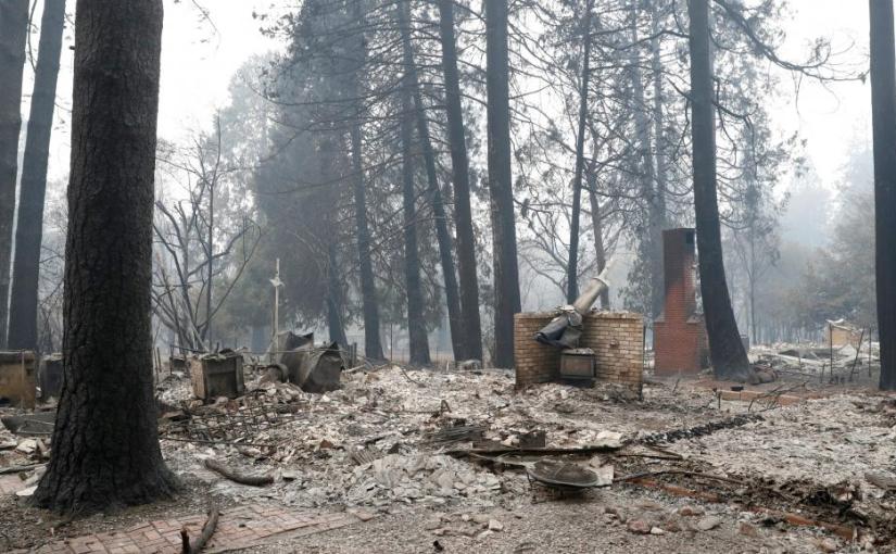 Incendies de Californie: PG&E devra verser 1 milliard de dollars d'indemnités
